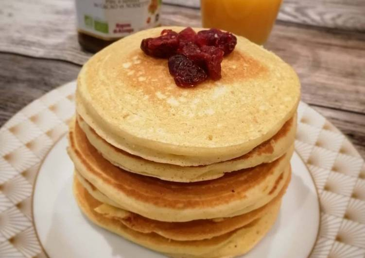 Recette Appétissante Pancakes rapides