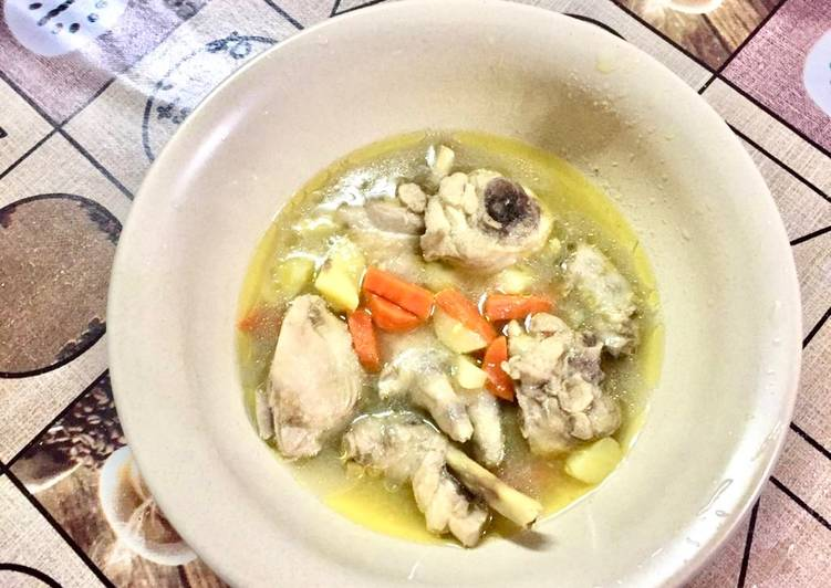 Sup ayam simple - velavinkabakery.com