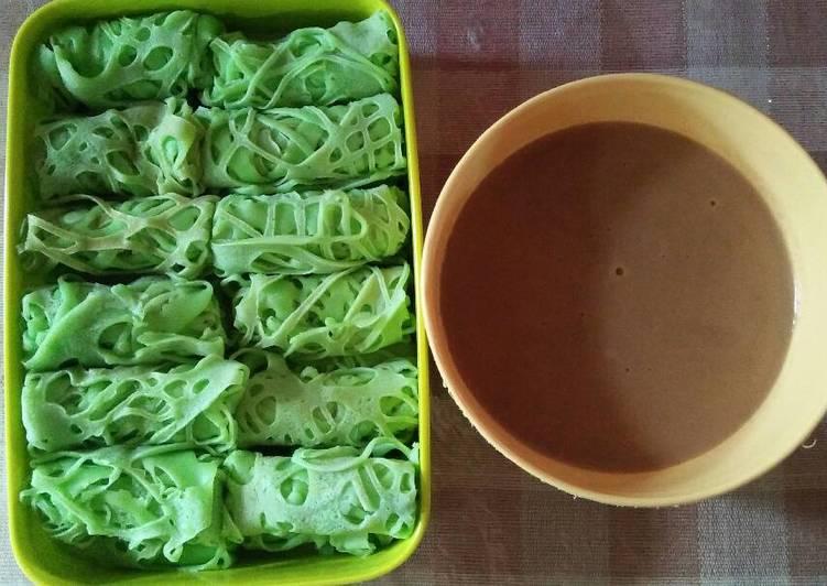 Resep Roti jala kuah durian oleh Sumarwati - Cookpad