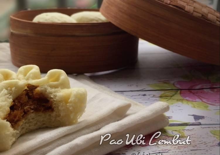 resep cara membuat Pao ubi lembut