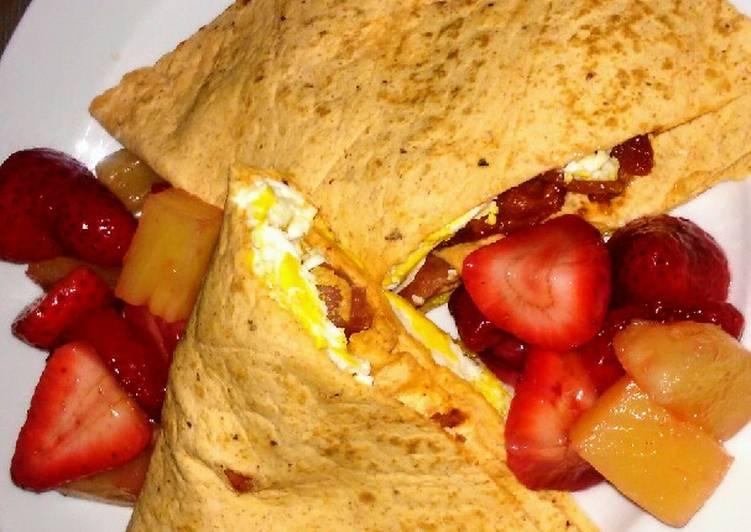 Simple Way to Make Award-winning Bacon & Egg Breakfast Wrap