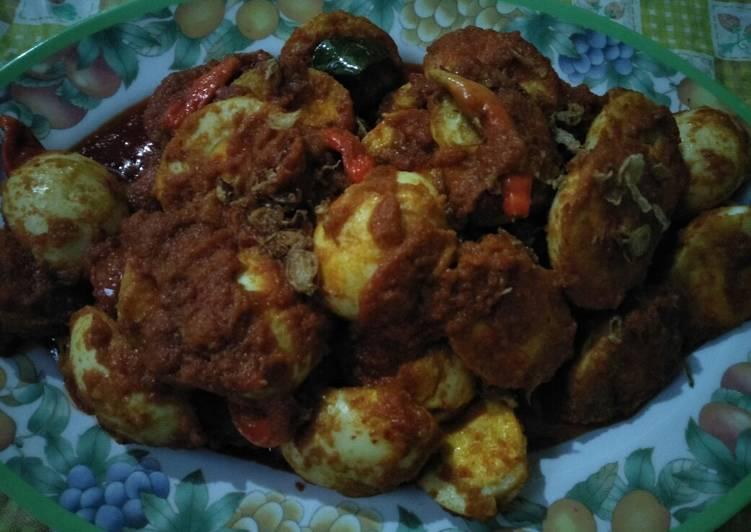 Resep Balado telur ayam mudah enak Yang Simple Pasti Enak