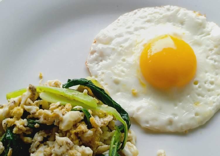 Pakcoy Ca Telur