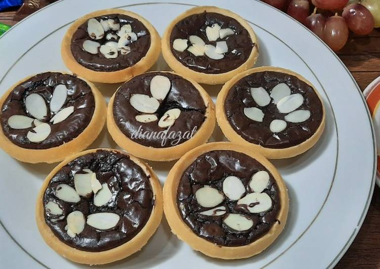 Resep Pie Brownies Praktis enak