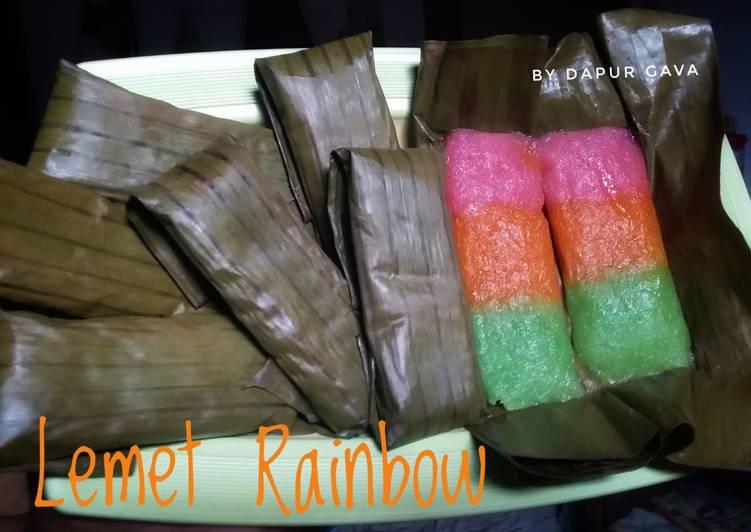 Lemet rainbow (ongol-ongol)