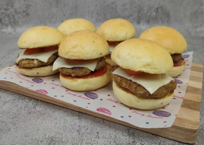 Mini Burger / Burger Bun / Beef Patty