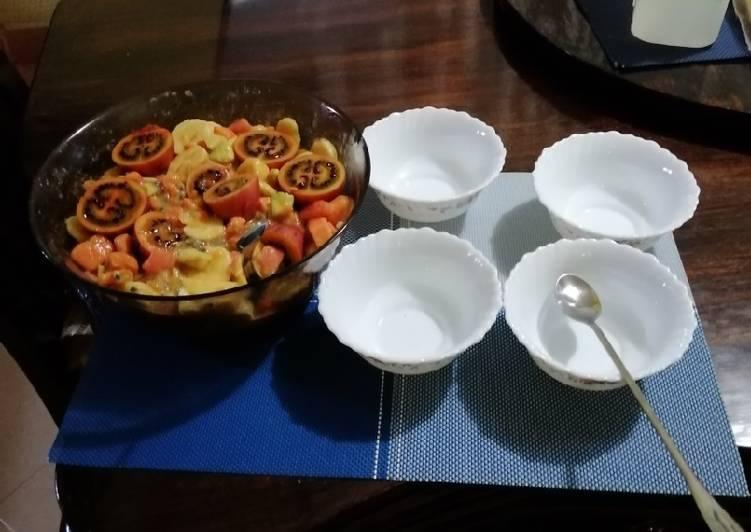 #jungle mixed fruit salad