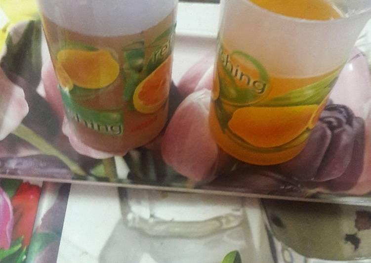 Recipe: Appetizing Shikanji with a twist of orange