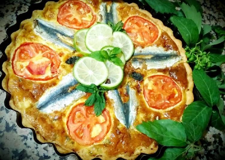 Quiche aux sardines