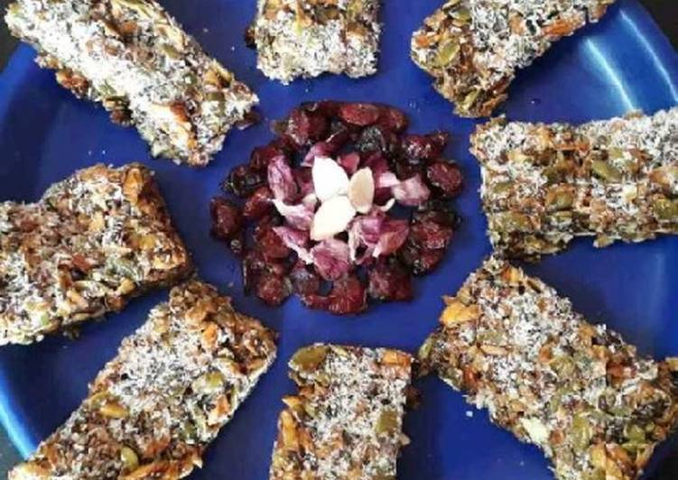 Easiest Way to Make Any-night-of-the-week Healthy energy bars