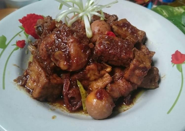Ayam Kecap Campur