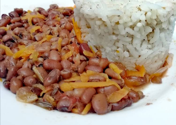 Recipe of Any-night-of-the-week Cowpeas with fried rice