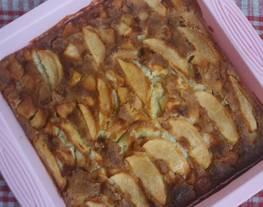 Tarta súper fácil de manzana