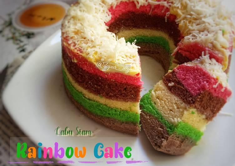 LABU SIAM RAINBOW CAKE empuuuk