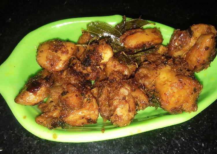 Super Yummy Methi chicken
