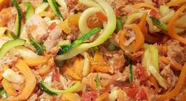 Hình ảnh món Vegi Spaghetti with Tuna Sauce