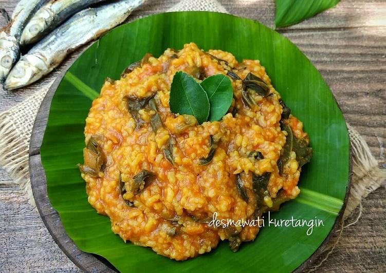 Bubua Lado (Bubur Nasi) Makanan Langka di Minangkabau Sumbar
