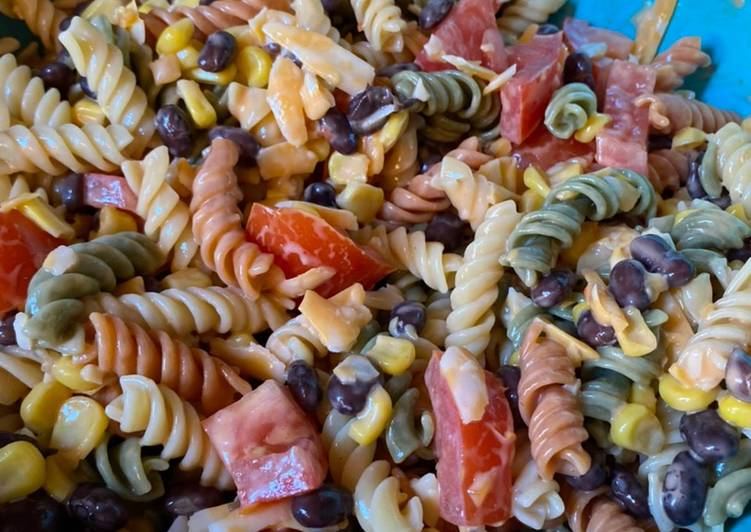 How to Cook Delicious Mexican pasta salad