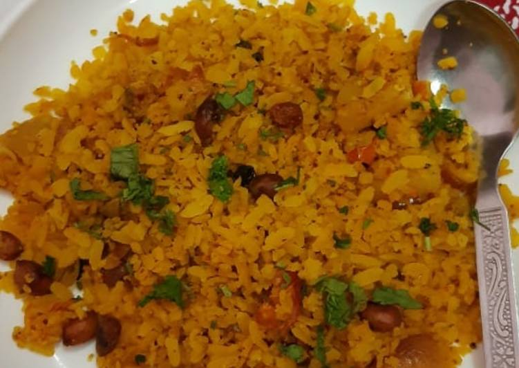 30 Minute Step-by-Step Guide to Make Favorite Poha (chiwra)