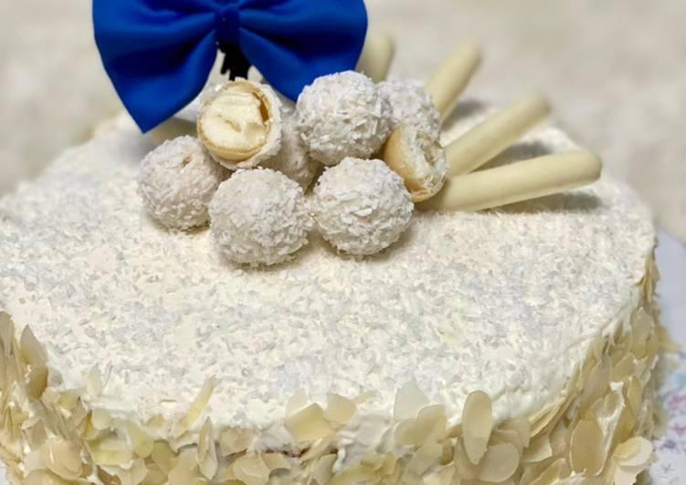 Comment faire Préparer Délicieux Gâteau Raffaello