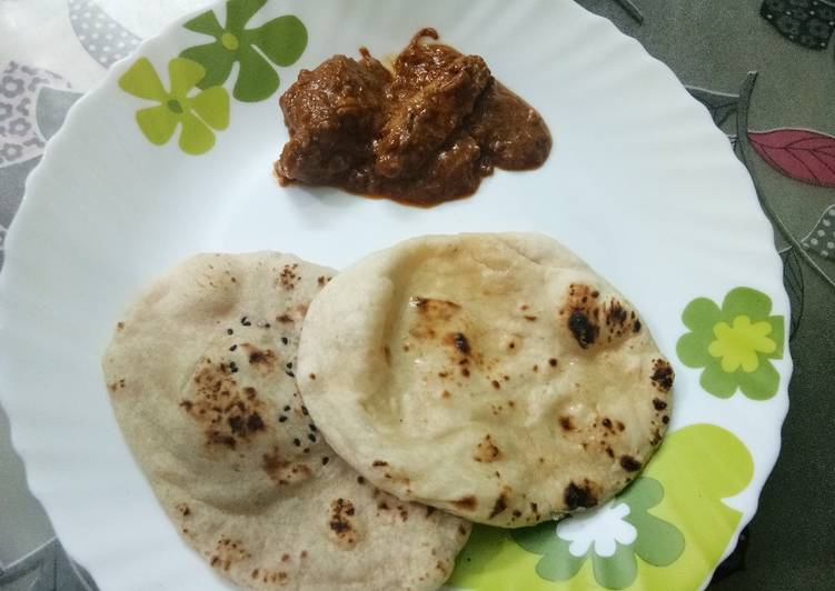 Chicken changezi with naan