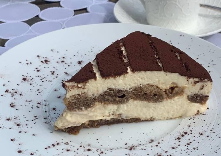 Recipe: Delicious Tiramisu au café et amaretto 🇮🇹