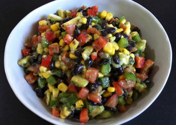 Colourful Black Bean Salad