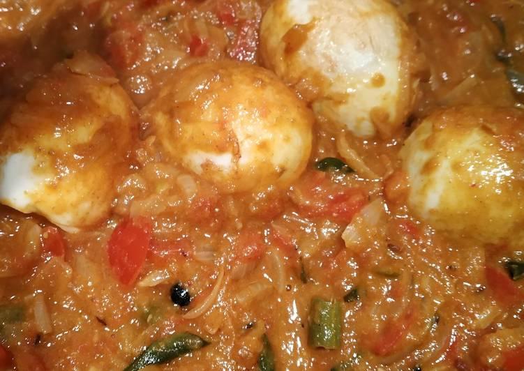 Kerala style egg curry