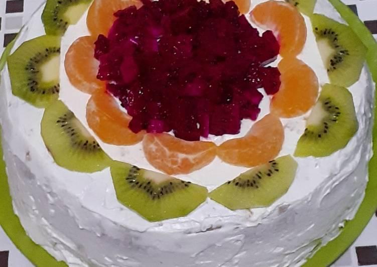 Resep Tart buah Paling Joss