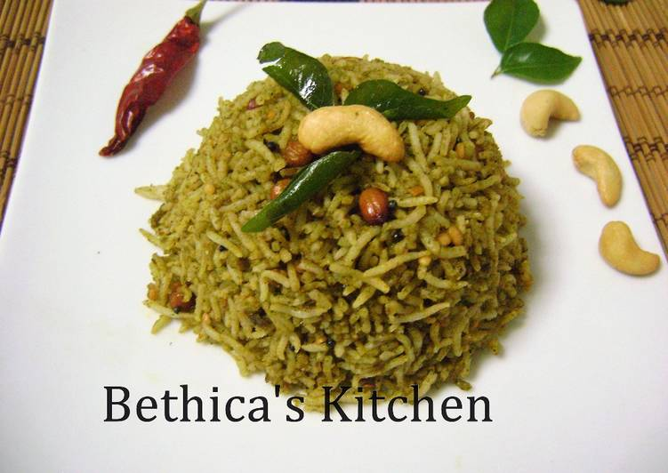 Recipe of Perfect Curry Leaves Rice