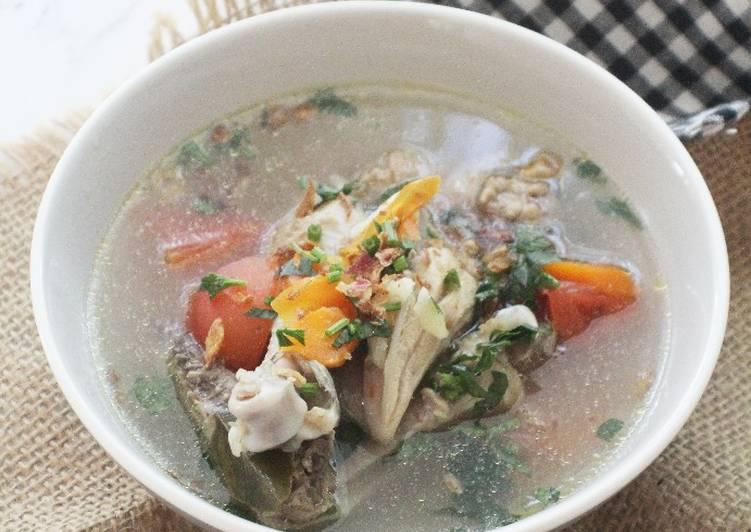 7. Sup Ayam Kampung