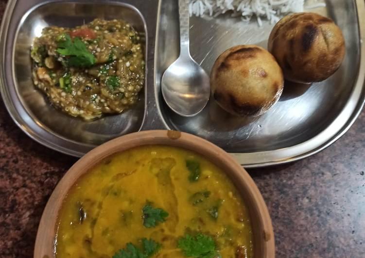 10+ Dinner Easy Award Winning Dal chawal bati chokha