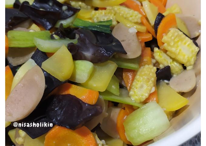 1. Capcay sayur