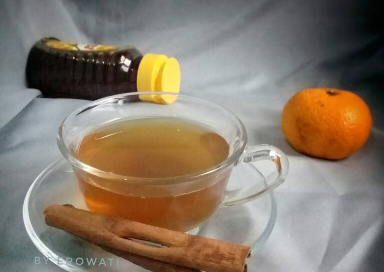 Honey Ponkan Peel Cinnamon Tea