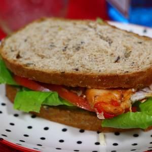 Cómo preparar un sandwich de pollo súper original