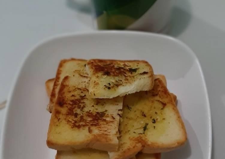 Garlic bread ala pizza hut