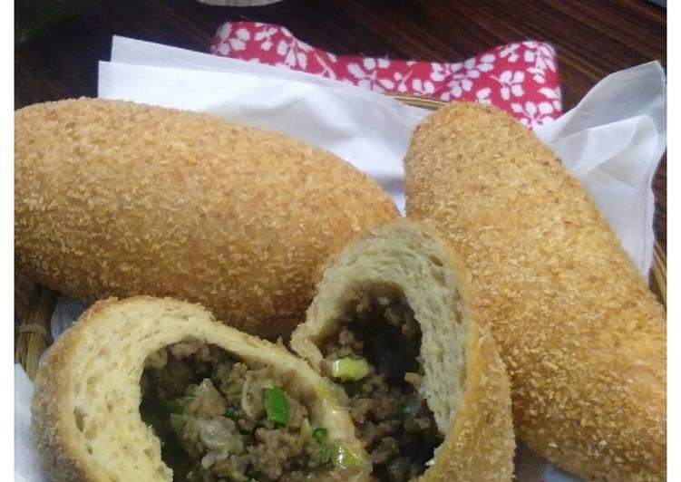Roti Goreng Daging Sapi #BikinRamadanBerkesan#
