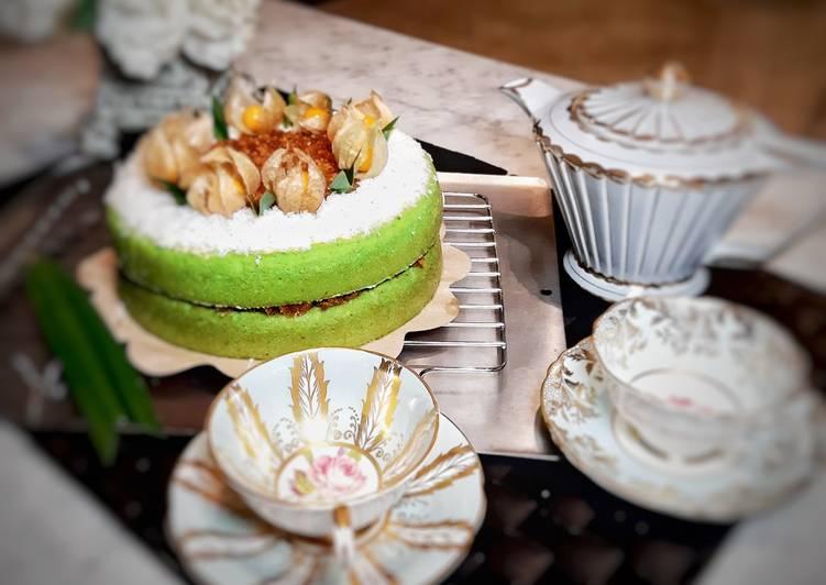 Klepon cake