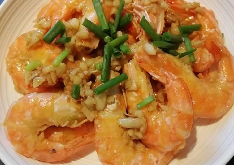 Butter Garlic Shrimp