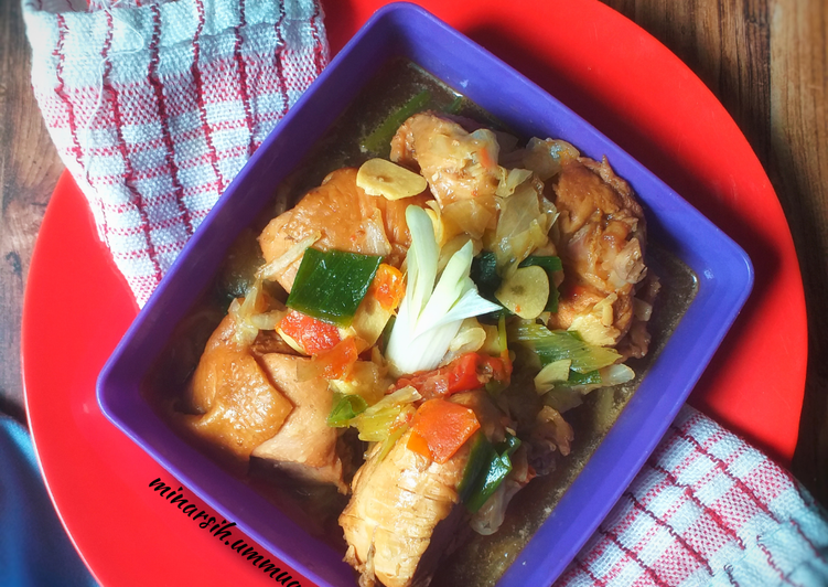 Bagaimana Menyiapkan Sayur Ayam Kecap #298¹⁵ Anti Gagal