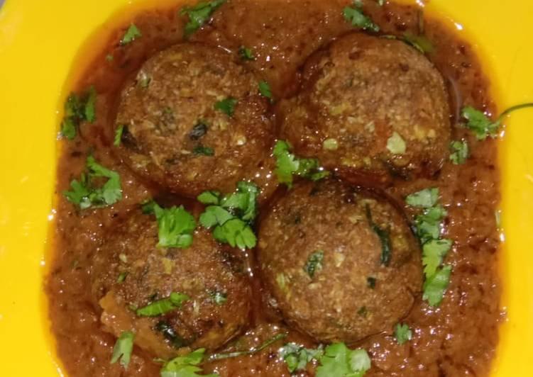 Gobhi kofta curry Finding Healthful Fast Food