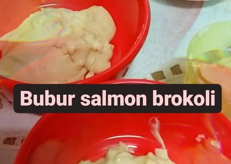 Bubur Salmon Brokoli