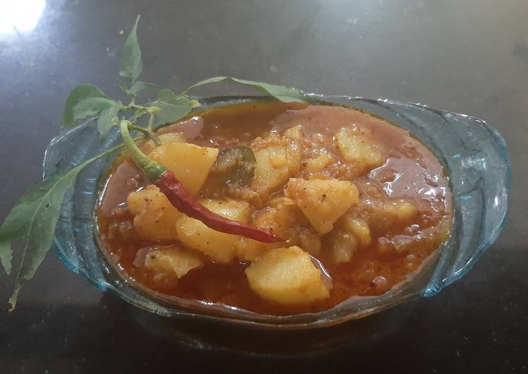 Easiest Way to Make Any-night-of-the-week Spicy potato curry