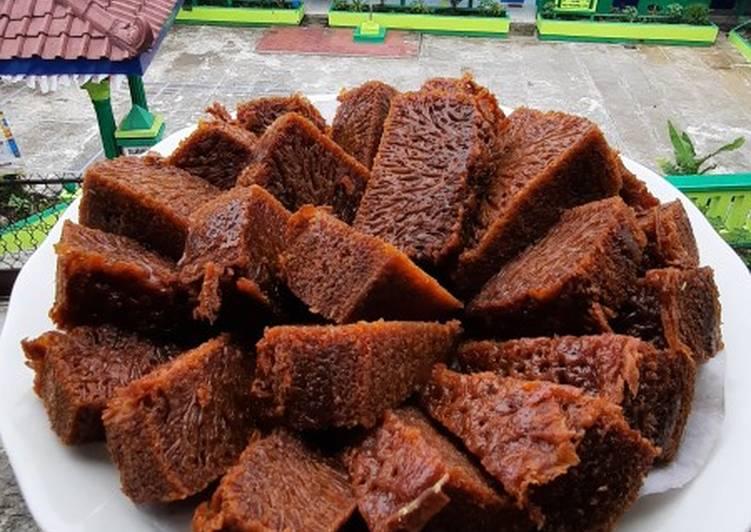 Bolu caramel (sarang semut) - cookandrecipe.com