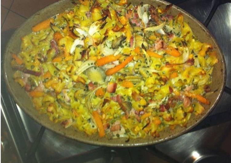 Comment Préparer Les Gratin de légumes emmental et comté au curry