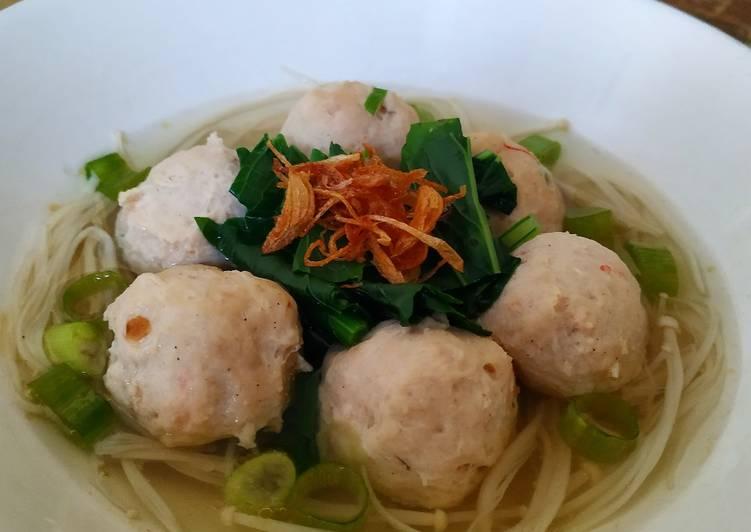 Sup Baso Ayam Udang#keto