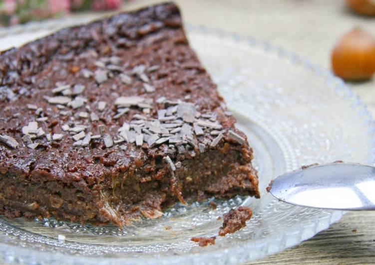 Recipe: Yummy Gâteau chocolat/noisette à la courgette