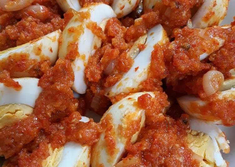 Telur Balado #Juli6 #masakanharian
