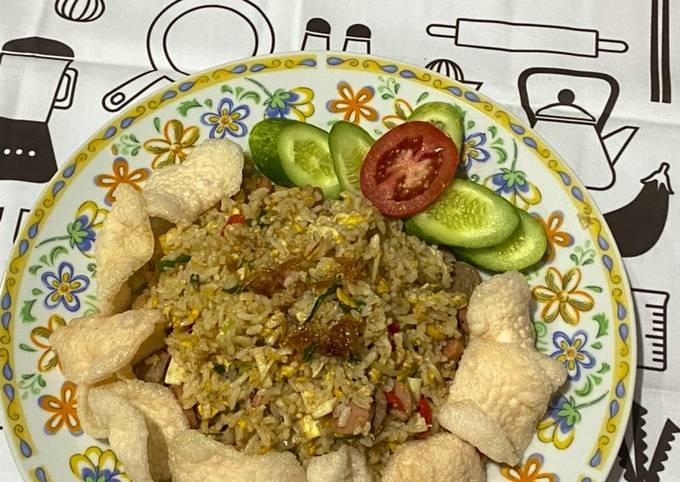 Nasi Goreng Sosis Bakso