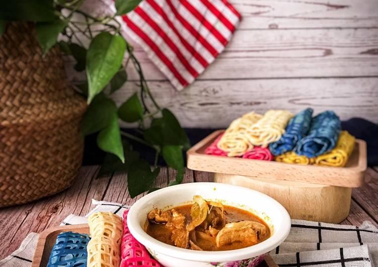 Roti Jala Merdeka dan Kari Ayam - velavinkabakery.com